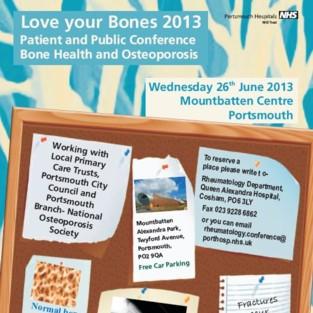Portsmouth Hospitals host Love your Bones
