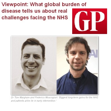 GP-Online: Global Burden of Disease and challenges facing the NHS