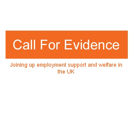 Call for Evidence – Policy and Support Services