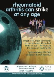 Poster for RA Awareness Week