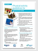 UK physical activity guidelines