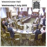 Parliamentary debate on fibromyalgia