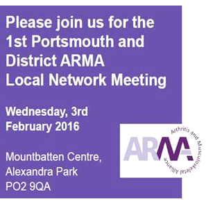 1st Portsmouth and District ARMA Network Meeting - Feb 2016