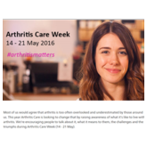 Arthritis Care Week round-up, May 2016