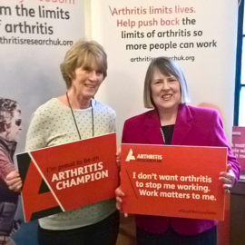 Photo of Parliamentary drop-in event: Working with Arthritis