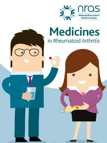 New 'Medicines in Rheumatoid Arthritis' booklet by NRAS