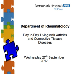 Day-to-Day Living with Arthritis and Connective Tissues Diseases Conference 2017