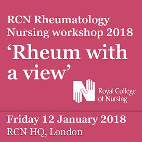 RCN Rheumatology Nursing workshop 2018