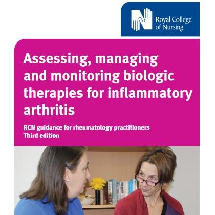 Biologics guidance document for Rheumatology Practitioners