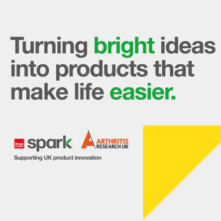 Spark innovation for the everyday challenges of arthritis