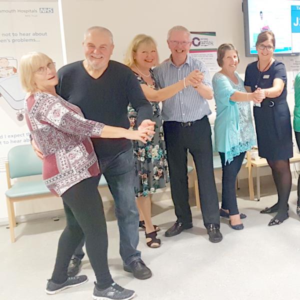 Portsmouth Department of Rheumatology dancing class