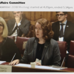 Versus Arthritis gives evidence to a Lords Committee about the social care needs of people with arthritis