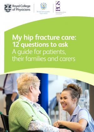 Hip fracture guide cover