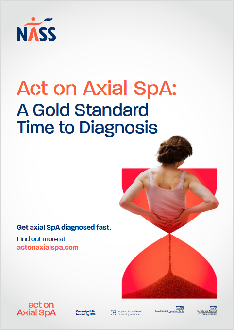 NASS launches campaign to achieve Gold Standard Time to Diagnosis for Axial SpA