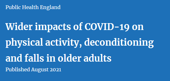 Impacts of COVID-19 on deconditioning and falls